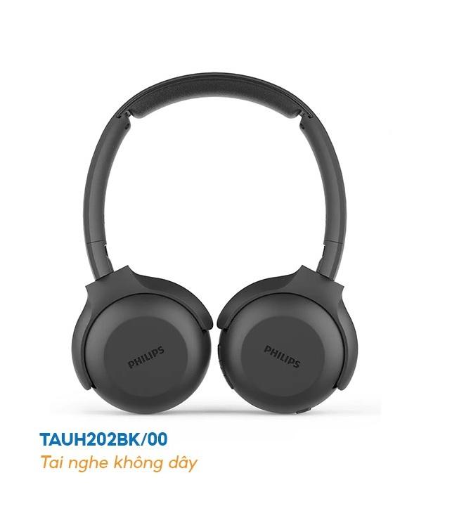 Tai nghe Bluetooth Philips TAUH202BK/00