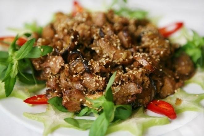 Thịt dê nướng kiểu Hoa