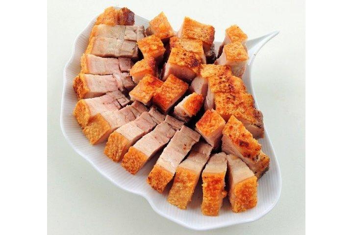 Thịt heo quay rim mặn