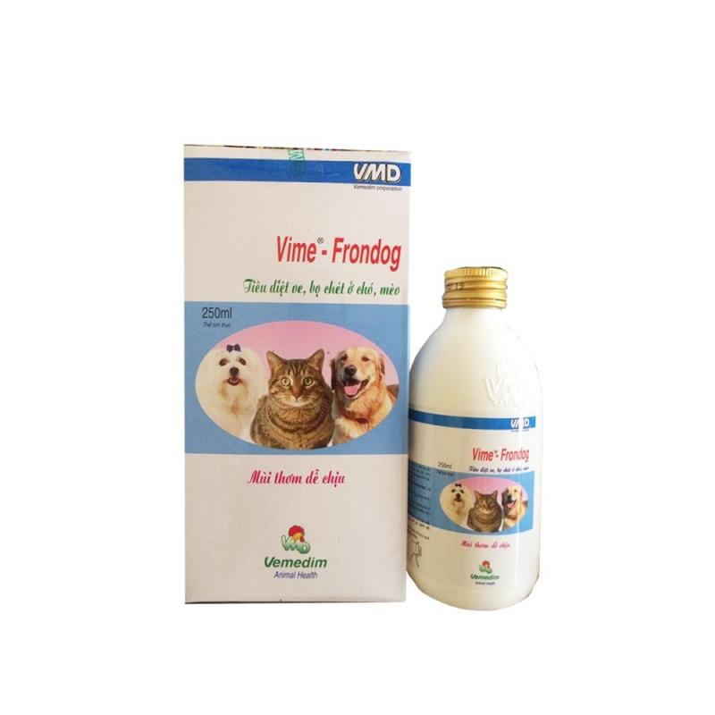 Thuốc Xịt Trị Ve Bọ Chét Cho Chó Mèo Vime – Frondog