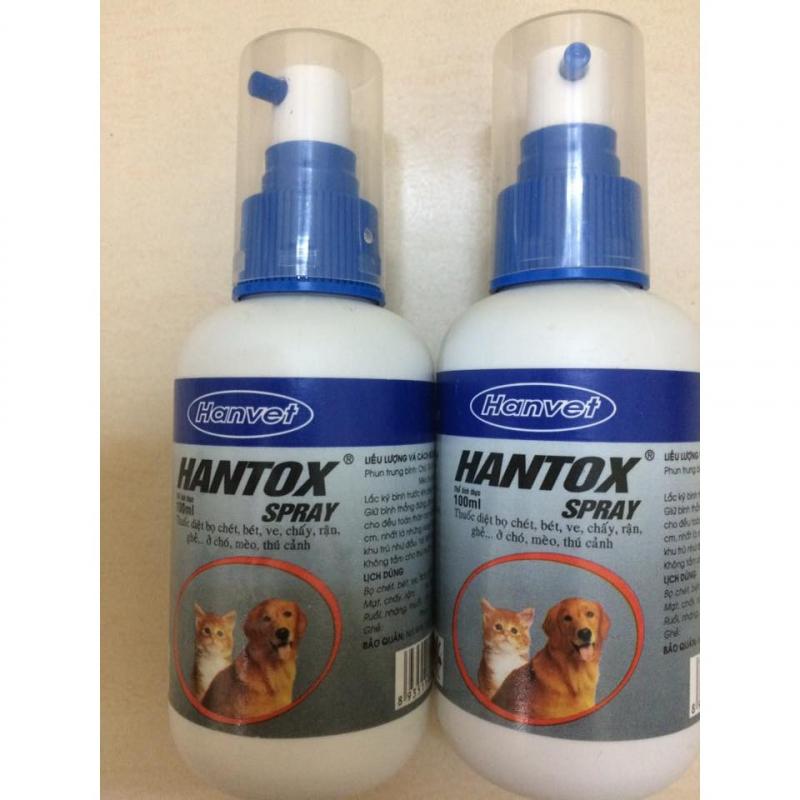 Thuốc xịt ve chó HanTox