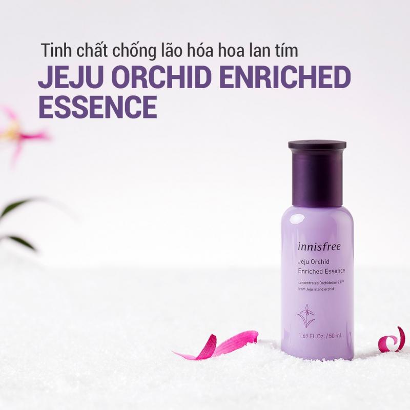 Tinh chất chống lão hóa hoa lan tím innisfree Jeju Orchid Enriched Essence 50ml