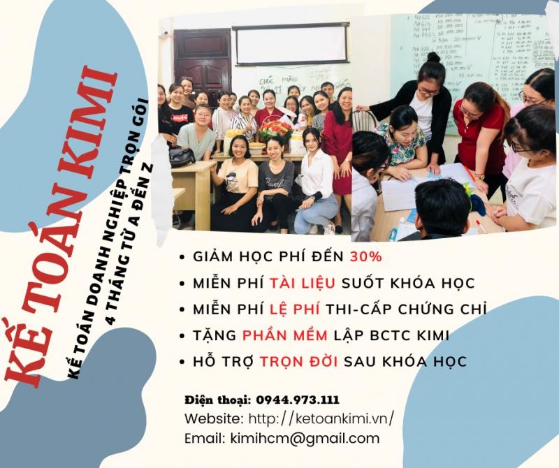 Trung tâm đào tạo kế toán Kimi