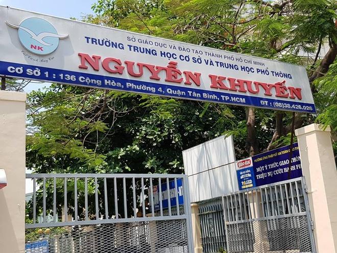 Trường THPT Nguyễn Khuyến Hồ Chí Minh