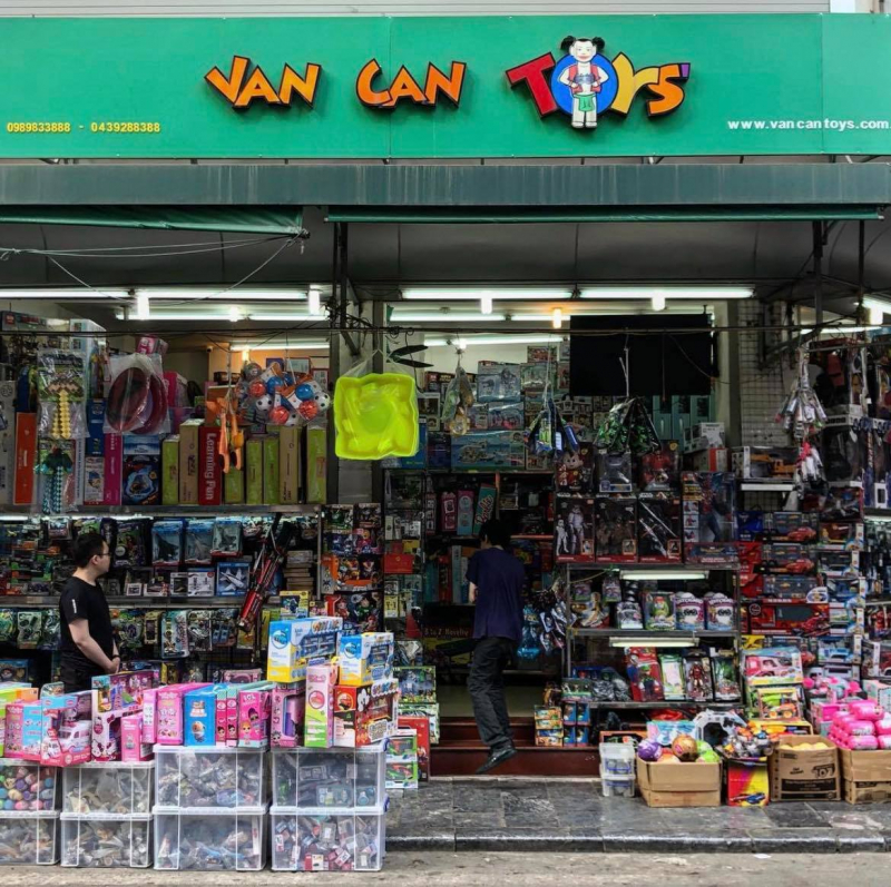 Van Can Toys